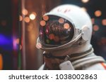 suit of an astronaut ...   Shutterstock . vector #1038002863