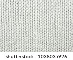 Small photo of White wool texture. Texture of wool. Knitting natural wool white background.