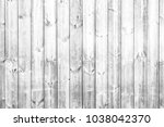 white wooden wall light color... | Shutterstock . vector #1038042370