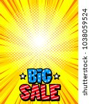 sale banner background. price... | Shutterstock .eps vector #1038059524