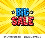 big sale banner discount... | Shutterstock .eps vector #1038059533
