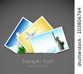 illustration of photograph of... | Shutterstock .eps vector #103806764