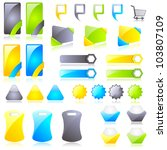 vector illustration of set of... | Shutterstock .eps vector #103807109