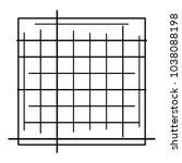 random lines  stripes. chaotic... | Shutterstock .eps vector #1038088198