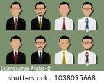 businessman avatar with...   Shutterstock .eps vector #1038095668