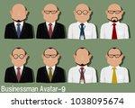 businessman avatar with...   Shutterstock .eps vector #1038095674