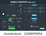 mobile shooter game ui kit