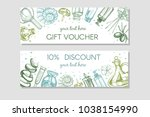 vector frame with spa cards | Shutterstock .eps vector #1038154990