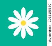 daisy chamomile vector | Shutterstock .eps vector #1038155590