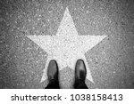 business concept. businessman... | Shutterstock . vector #1038158413