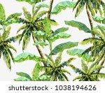 beautiful seamless vector... | Shutterstock .eps vector #1038194626