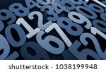 background of numbers. from... | Shutterstock . vector #1038199948