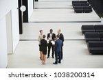 circle of elegant business... | Shutterstock . vector #1038200314