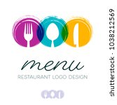 Abstract Restaurant Menu Desig...