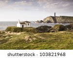 Coastal Landscape With Chapel...