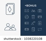 package icon set and arrow with ...