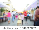 vintage tone  festival event... | Shutterstock . vector #1038226309