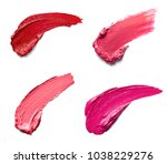 collection of various lipstick... | Shutterstock . vector #1038229276