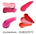collection of various lipstick... | Shutterstock . vector #1038229279