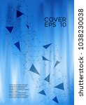 accurate cover page layout.... | Shutterstock .eps vector #1038230038
