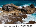 Rocky Formation On The...