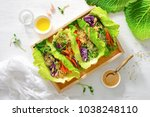 Vegan detox spring rolls with...