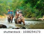 chiang mai   thailand   jan 12... | Shutterstock . vector #1038254173