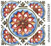 design for ceramic tiles ...   Shutterstock . vector #1038256639