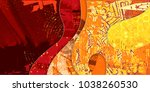 layered composition with rich... | Shutterstock .eps vector #1038260530