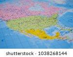 North America World Map - Fine Art prints
