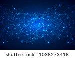 shine geometric technology...   Shutterstock .eps vector #1038273418