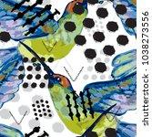 abstract grunge  seamless...   Shutterstock .eps vector #1038273556