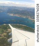 Small photo of Montenegro view through airplay window