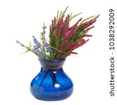 spring floral composition... | Shutterstock . vector #1038292009