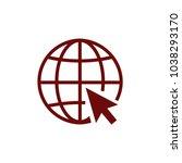 internet  online  www icon... | Shutterstock .eps vector #1038293170