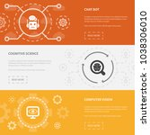 artificial intelligence 3... | Shutterstock .eps vector #1038306010