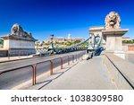 budapest  hungary. szechenyi or ... | Shutterstock . vector #1038309580