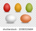 vector 3d realistic white and... | Shutterstock .eps vector #1038310684