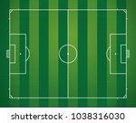 soccer or football stadium... | Shutterstock .eps vector #1038316030