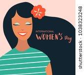 8 march  international women's... | Shutterstock .eps vector #1038323248