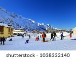 passo del tonale  south tyrol... | Shutterstock . vector #1038332140