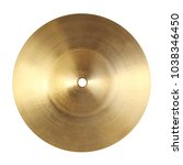 Backside of splash cymbal...
