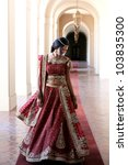 Beautiful Indian Bride In...
