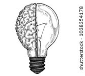 creative. imagination.... | Shutterstock . vector #1038354178