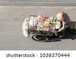 saigon  vietnam  dec 18 2017 ... | Shutterstock . vector #1038370444