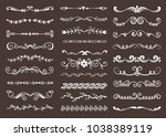 text vector divider grunge... | Shutterstock .eps vector #1038389119