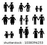 set of pictograms that...   Shutterstock .eps vector #1038396253