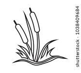 reed sketch vector    Shutterstock .eps vector #1038409684