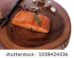 breakfast delicious portion of... | Shutterstock . vector #1038424336