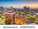 orlando  florida  usa downtown... | Shutterstock . vector #1038436003